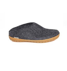 Glerups Glerups Open Heel Rubber Sole | Charcoal