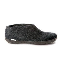 Glerups Glerups Shoe Charcoal | Black Rubber Sole