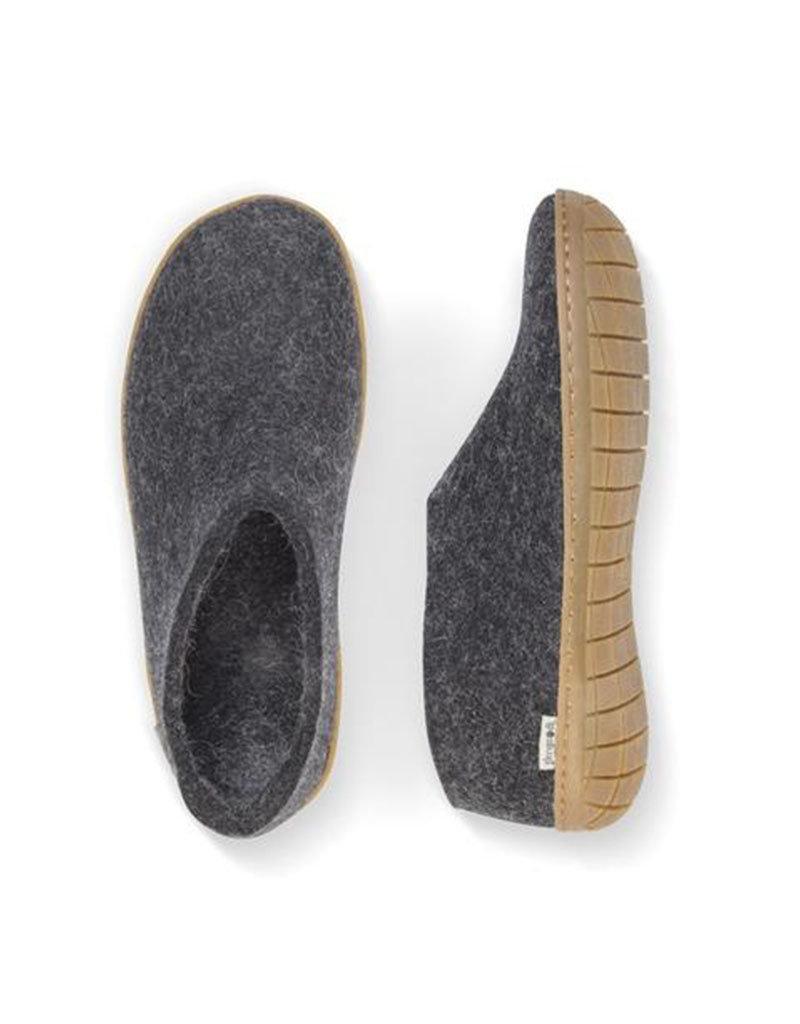 Glerups Glerups Shoe Rubber Sole   Charcoal