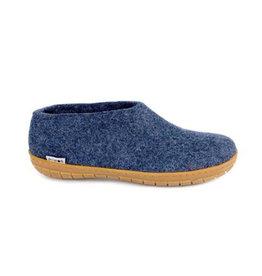Glerups Glerups Chaussure Bleu Denim | Semelle Caoutchouc