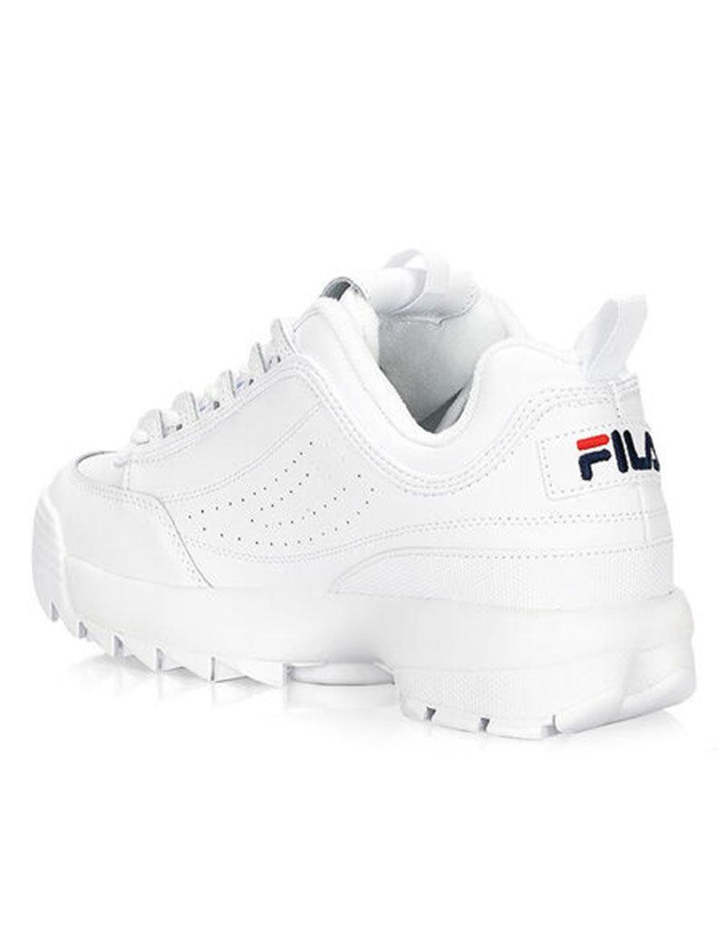Fila Fila Disruptor II Premium| White/Fnavy/Fred
