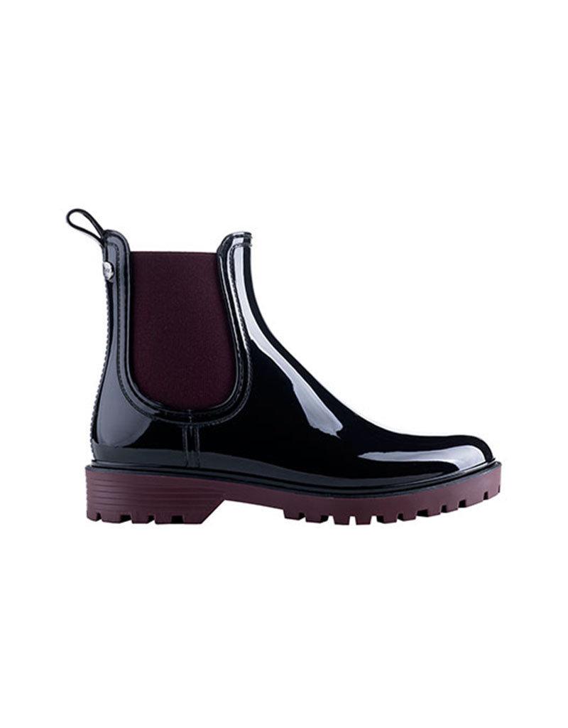 Igor Trak-Bi Rain boots | Black/Burgundy