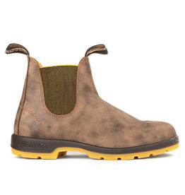 Blundstone Blundstone 1944 - The Leather Lined | Rustic Brown/Mustard