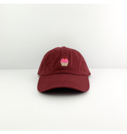 City hunter Cupcake | Burgundy