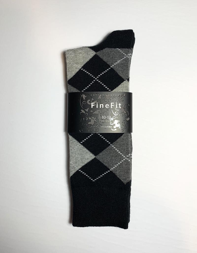 Fine Fit Men's Socks