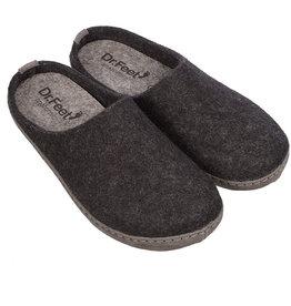 Dr. Feet 2480T ASH Leather Sole   Black