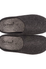 Dr. Feet 2480T ASH Leather Sole | Black