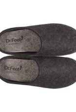 Dr. Feet 2480T Semelle ASH en cuir | Noir