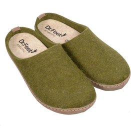 Dr. Feet 2480T EARTH Leather Sole | Green