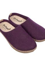 Dr. Feet 2480T Semelle EARTH en cuir   Pourpre