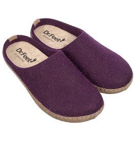 Dr. Feet 2480T EARTH Leather Sole | Purple