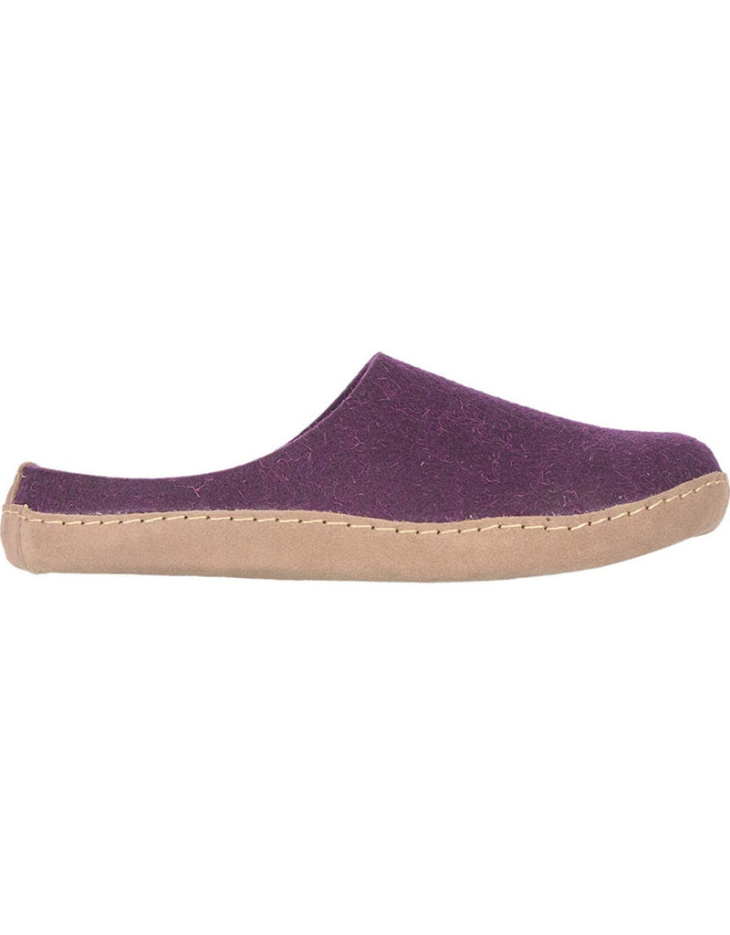 Dr. Feet 2480T EARTH Leather Sole | Purple