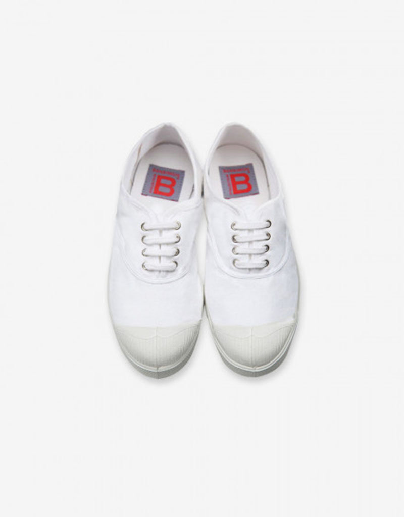 Bensimon Tennis Avec Lacet | Blanc