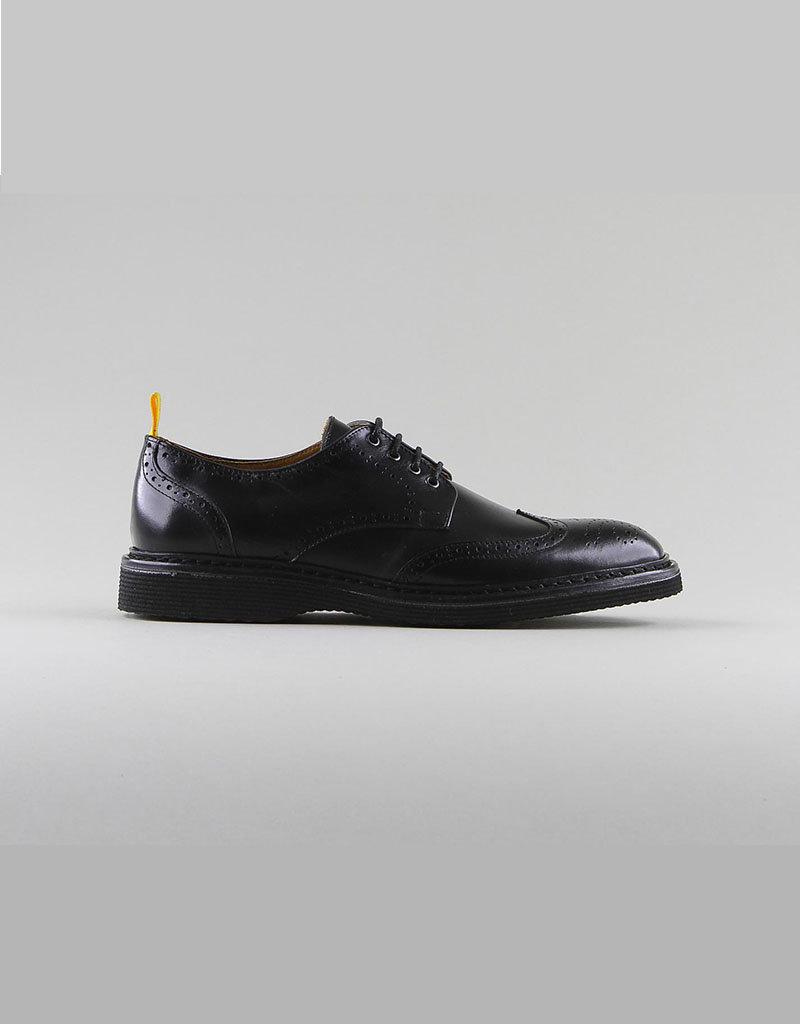 Schmoove Mora Perfo Leather | Black