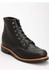 """Chippewa 6"""" Service Boot   Black"""