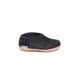 Glerups Glerups Shoe Kids Leather Sole | Charcoal