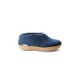 Glerups Glerups Shoe Kids Leather Sole | Denim