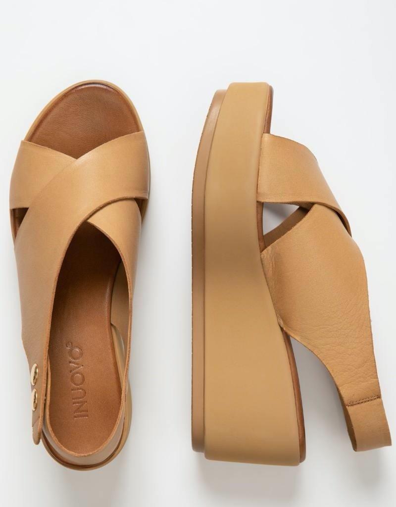 INUOVO - Sandal 123031   Noix de Coco