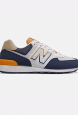 New Balance Men Sneakers New Balance 574 - ML574 SUR | Natural Indigo/ Chromatic Yellow