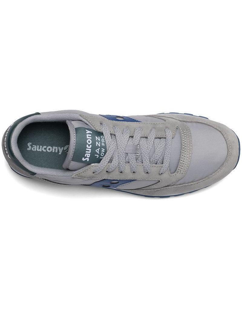 Saucony SAUCONY - Men Jazz Low Pro | Grey/Blue