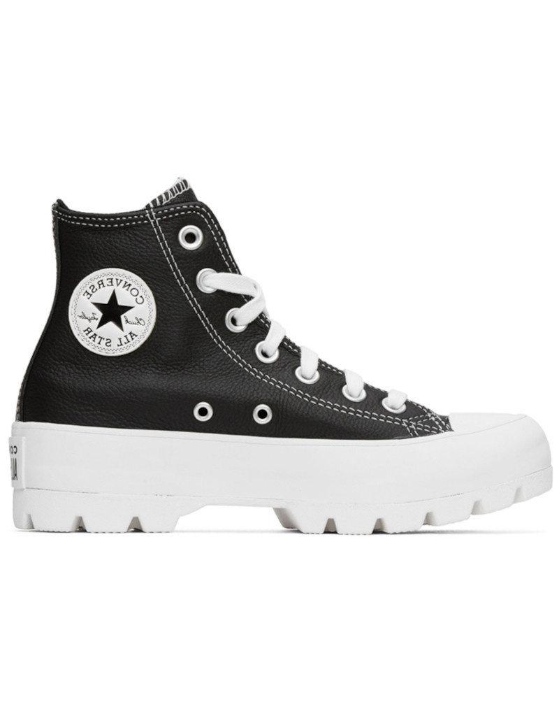 Converse CONVERSE - CTAS Lugged Hi |Leather Black
