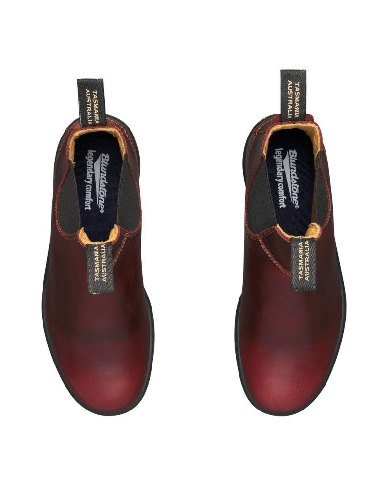 Blundstone Blundstone 1440 - Classique Doublée De Cuir | Rouge Séquoia
