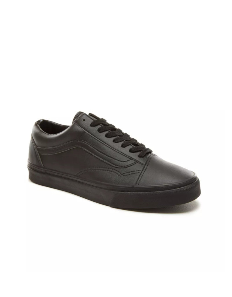 Vans Vans - Old Skool | Black/Black (Classic Tumble)