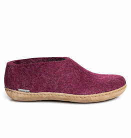 Glerups Glerups Shoe Leather Sole | Cranberry