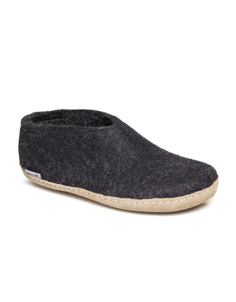 Glerups Glerups Chaussure Semelle Cuir | Anthracite