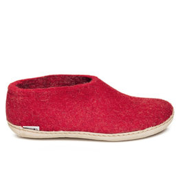 Glerups Glerups Chaussure Semelle Cuir | Rouge