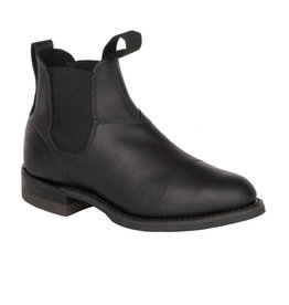 Canada West Canada West - Romeo Women Leathe Chelsea Boots -- 6774 | Black