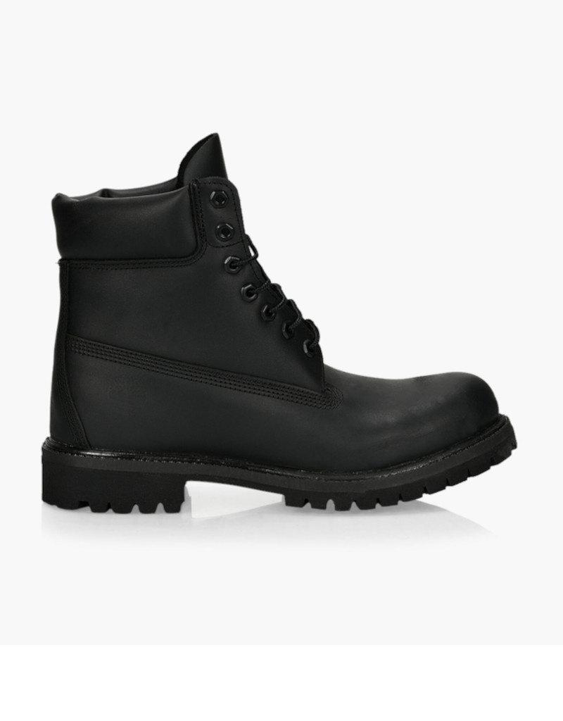 "Timberland Timberland - Premium 6"" Men -- TB0A1MA6001 |  Black Full Grain"