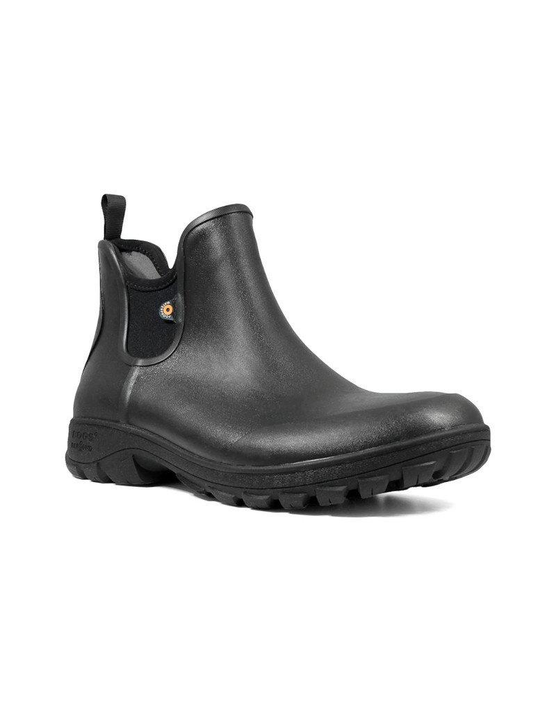 Bogs Footwear BOGS - Bottes homme Sauvie slip On Boot -- 72208 | Noir