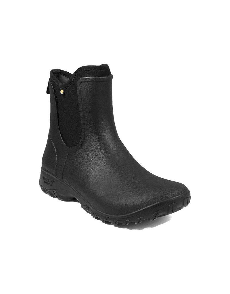 Bogs Footwear BOGS - Bottes femme Sauvie Slip On Boot -- 72203 | Noir