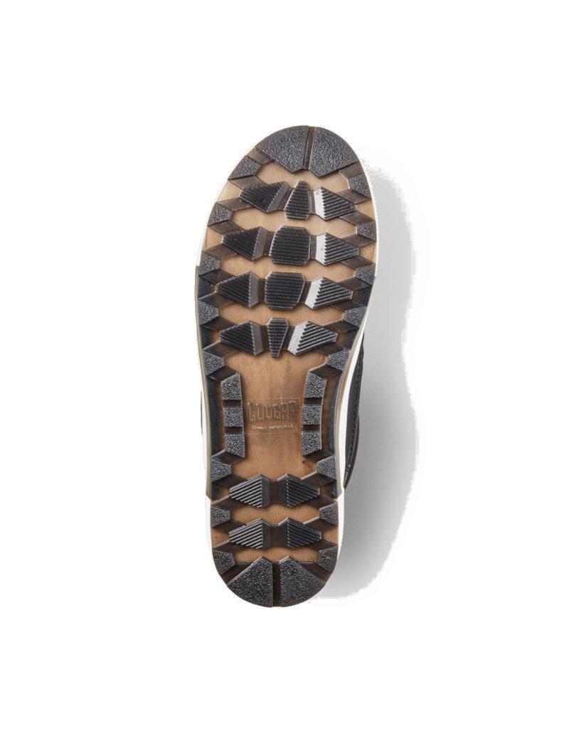 Cougar Bottes d'hiver en nylon vegan pour femme Cougar Wahoo | Noir et Blanche