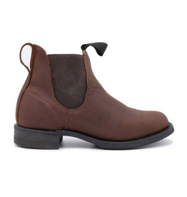 Canada West Canada West - Bottes en cuir Chelsea Romeo -- 6775 | Crazy Horse