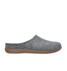 DR.FEET Dr. Feet Women Rubber Sole natural wool Slippers Grey