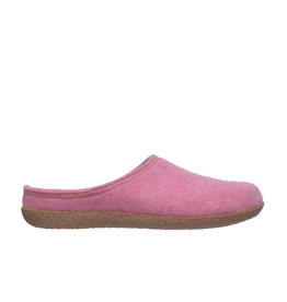 DR.FEET Dr. Feet Women Rubber Sole natural wool Slippers Pink