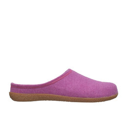 DR.FEET Dr. Feet Women Rubber Sole natural wool Slippers Purple