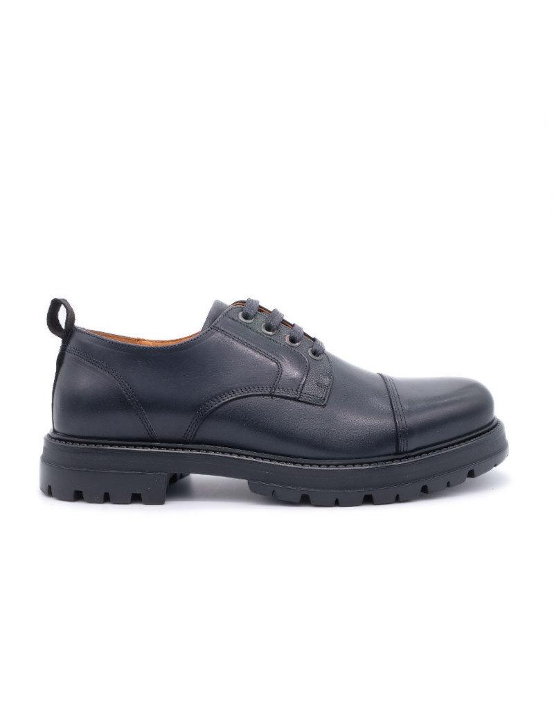 Ambitious Chaussures de ville basse en cuir pour homme Ambitious noir -- 10974