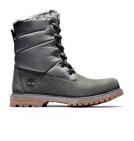 Timberland Timberland - Women Winter boots Puffer Premium 6 inch Warm Dark Grey Nubuck