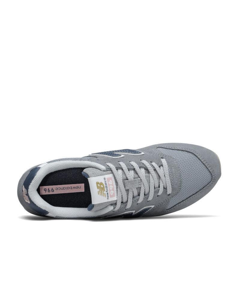 New Balance Chaussures baskets femme New Balance  996 Gris bleu -- WL996WS