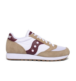 Saucony Men Sneakers Saucony Jazz Original Vintage Tan White Whine