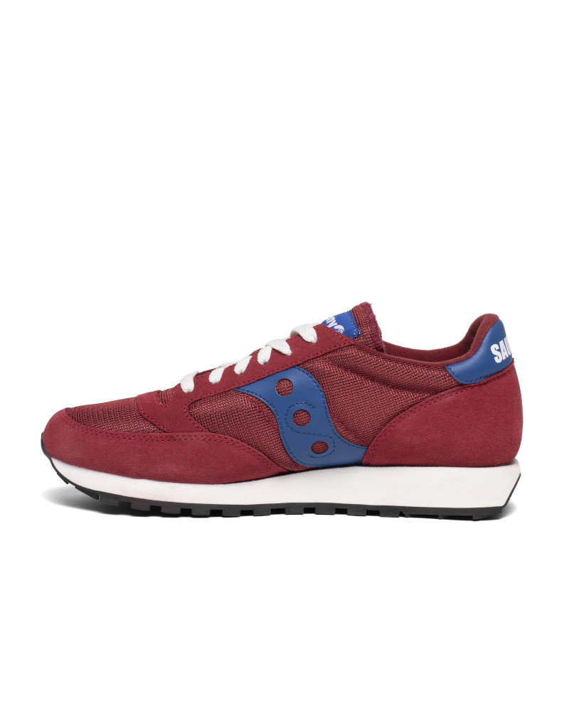 Saucony Chaussures basket homme Saucony Jazz Original Vintage Rouge bleu