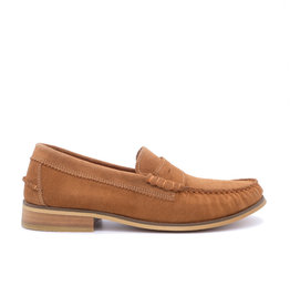 Coxx Borba Suede Mocassin for men Coxx Borba JIM Cognac