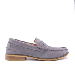 Coxx Borba Suede Mocassin for men Coxx Borba JIM Grey
