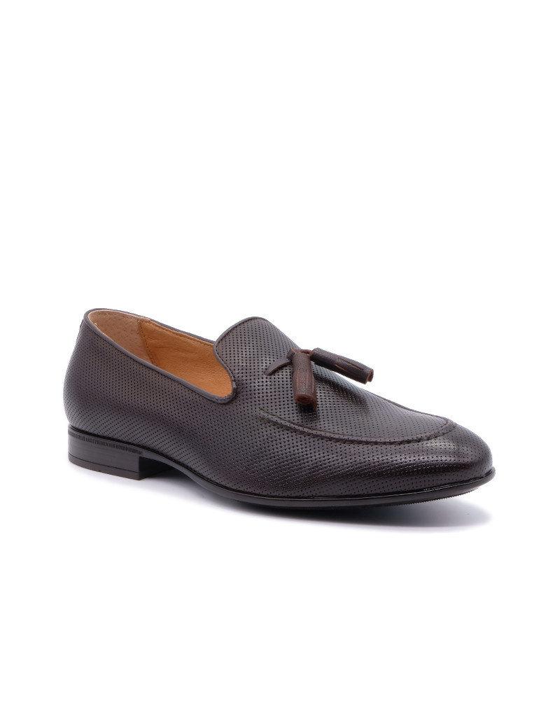 Coxx Borba Leather Loafer for men Coxx Borba Fany Brown