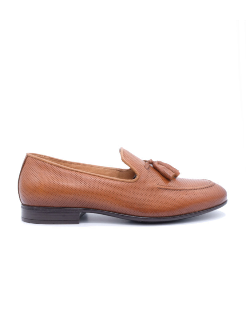Coxx Borba Leather Loafer for men Coxx Borba Cognac