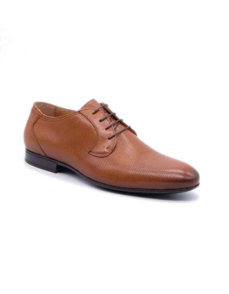 Coxx Borba Chaussures de villes en cuir pour homme Coxx Borba Fany Marron