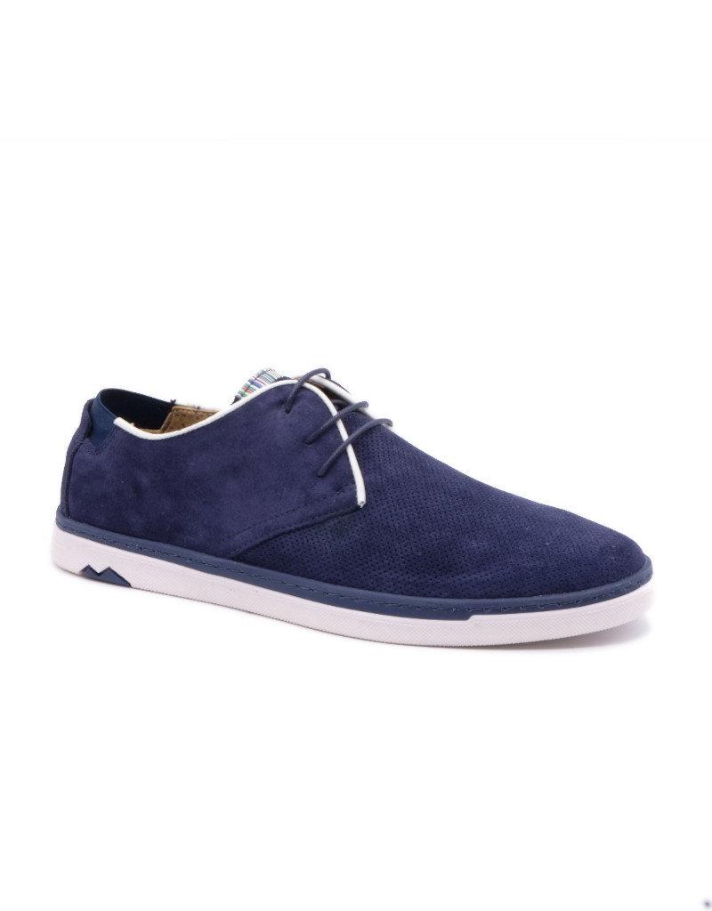 Coxx Borba Chaussures de villes en suede pour homme Coxx Borba  Alonso Marine